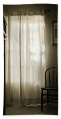 Morning Light Through The Window Beach Towel