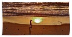 Morning Meditation Beach Sheet
