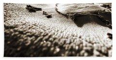 Morning Mushroom Top Beach Towel