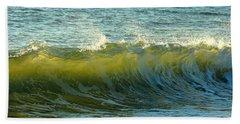 Morning Ocean Break Beach Towel