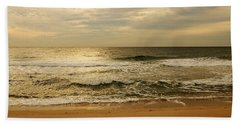 Morning On The Beach - Jersey Shore Beach Sheet