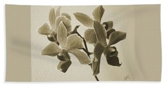 Morning Orchid Beach Towel