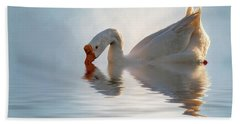 Morning Refresh Beach Towel by Cyndy Doty
