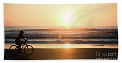 Morning Ride Beach Towel