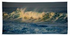 Morning Sea Spray Beach Towel