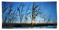 Beach Towel featuring the photograph Good Day Sunshine by John Glass