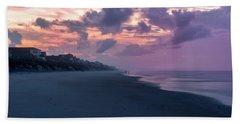 Morning Stroll On The Beach Beach Towel