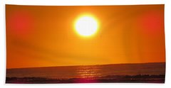 Morning Sun Break Beach Towel