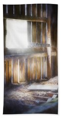 Morning Sun In The Barn Beach Towel