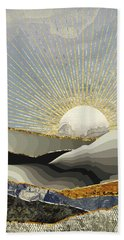 Morning Sun Beach Towel by Katherine Smit