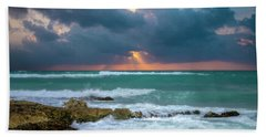 Morning Surf Beach Towel