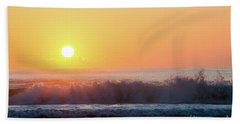 Morning Waves Beach Towel