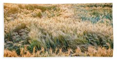 Morning Wheat Beach Towel