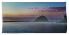 Moro Bay Calm  Pano Beach Towel