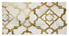 Moroccan Gold I Beach Towel