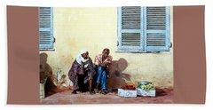 Morocco Beach Sheet by Tim Johnson