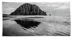 Morro Rock II Beach Towel