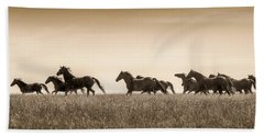 Mortana Morgan Mares Beach Towel