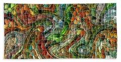 Mosaic #75 Beach Towel