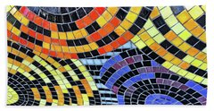 Mosaic No. 113-1 Beach Towel