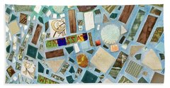 Mosaic No. 6-1 Beach Towel