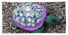 Mosaic Turtle Beach Towel by Jamie Frier