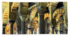 Mosque Cathedral Of Cordoba 2 Beach Towel