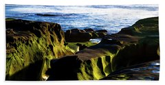 Moss Glow Beach Towel