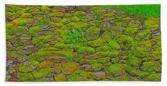 Moss Wall Beach Towel