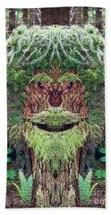 Beach Sheet featuring the photograph Mossman Tree Stump by Martin Konopacki