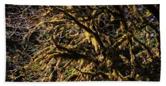 Mossy Trees Beach Towel