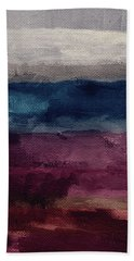 Most Of All- Abstract Art By Linda Woods Beach Towel