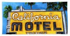 Motel California Beach Towel