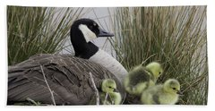 Mother Goose Beach Towel by Jeannette Hunt