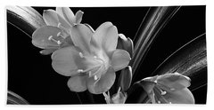 Mother's Clivia Lily Beach Towel
