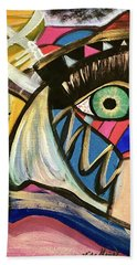 Motley Eye 3 Beach Towel