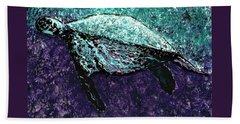 Mottled Sea Turtle  Beach Sheet