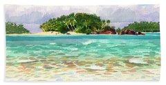 Motu Rakau, Aitutaki Beach Towel