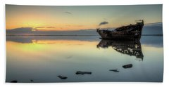 Motueka Sunrise 3 Beach Towel