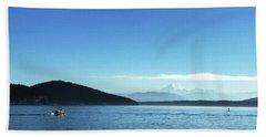 Mount Baker Looms Beach Sheet