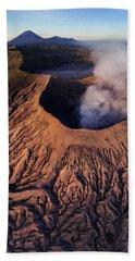 Mount Bromo At Sunrise Beach Sheet