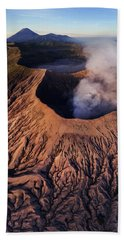 Mount Bromo At Sunrise Beach Sheet