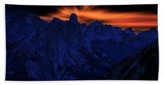 Mount Doom Beach Towel