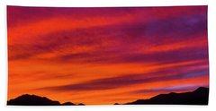 Mount Franklin Purple Sunset Beach Sheet