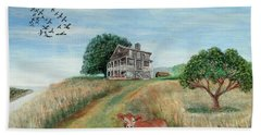 Mount Hope Plantation Beach Towel by Lyric Lucas