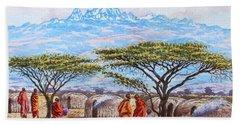 Mount Kenya 3 Beach Sheet