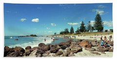 Mount Maunganui Beach 2 - Tauranga New Zealand Beach Towel by Selena Boron