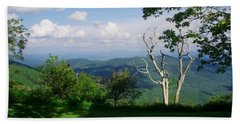 Mount Pisgah Vista Beach Towel