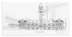 Mount Royal Station Beach Sheet