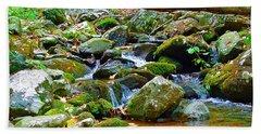 Mountain Appalachian Stream 2 Beach Sheet